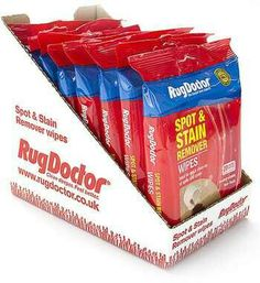 Spot And Stain Remover Wipes · Rug DoctorStain RemoversStainsCleaningCarpet