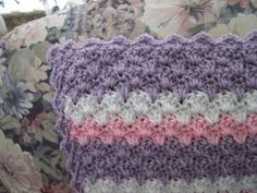 Cute pattern for baby blanket
