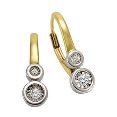Celesta Diamonds Ohrhänger 925 - Silber 4x Diamant Jetzt bestellen unter   https   be9cd40864