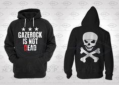 The Gazette Gazerock Is Not Dead Hoodie Sweatshirt One ok Rock Visual Kei BabyMetal Dir en Grey Girugamesh Gackt Mejibray Versailless Diaura by Mazeishop on Etsy