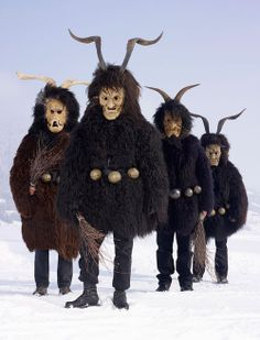 Still-Practiced Pagan Ritual Costumes These are not your average...