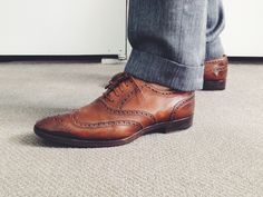 Joe Lupo Style // Mens Tom Ford lace up shoes