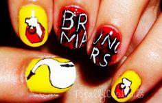 Bruno Mars Nails
