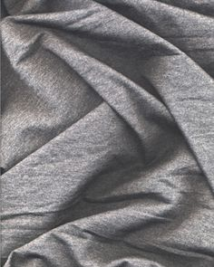 Cotton Lycra Jersey - Charcoal [Purchased]