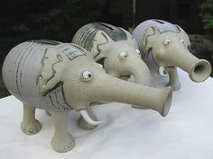 T Money Banks Studios  At Our Pottery Studio We Make Fantastic  Money Banks In The Shape Of Animals Order Unique Online