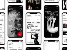 Aurora Mobile Kit designed by morrre. Connect with them on Dribbble; Web Design, App Ui Design, Design Ideas, Graphic Design, Applications Mobiles, How To Make Banners, Portfolio Website, Ui Kit, Mobile Design