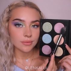 Pastel rainbow by Pastel Makeup, Blue Makeup, Girls Makeup, Skin Makeup, Beauty Makeup, Mermaid Makeup Tutorial, Smokey Eye Makeup Tutorial, Makeup Inspo, Makeup Inspiration