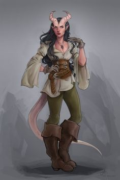409 Best Tiefling - Female images in 2019 | Character art