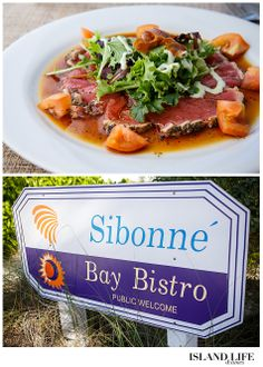 At Bay Bistro, the coffee-rubbed tuna – seared yellowfin tuna served with a garnish salad and pickled ginger – offers a light meal high in protein. Conch is also a good source of protein, and Seaside Café offers a fresh Peruvian conch ceviche mixed with veggies and served with a spicy citrus sauce. #turks #caicos #turksandcaicos www.islandlifeandtimes.com
