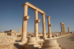 On May the Islamic State began an offensive to invade the city of Palmyra, demanding the location of the city's most valuable ancient treasures. Monument Men, Temple, Central City, Ancient Ruins, Heritage Site, Destruction, The Man, Egypt, Chill