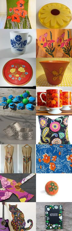 Fabulous Florals by NineUh Malone on Etsy--Pinned with TreasuryPin.com