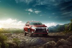 Mitsubishi Outlander on Behance