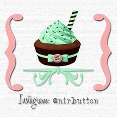 Icon Logo for Nira Azhari's Nirbutton Cupcakes!