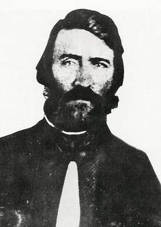 Sam Jones, the Douglas County sheriff who sacked Lawrence in 1856. Photo courtesy of Watkins Community Museum of History