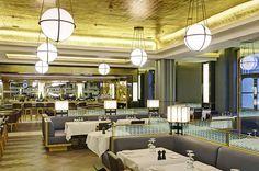 St Pancras Grand Restaurant, London Pub Design, Restaurant Design, Restaurant Bar, London Restaurants, Light Project, Game Room, Ceiling Lights, Interior Design, Lighting