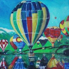 Up in the air Painting New Art, Saatchi Art, Art Projects, Original Paintings, My Arts, Canvas, Tela, Canvases, Art Designs