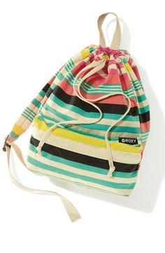 Roxy Cinch Top Backpack (Girls)