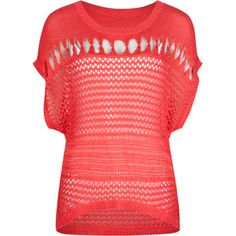FULL TILT Open Stitch Womens Sweater