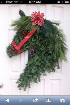 Horsie wreath!