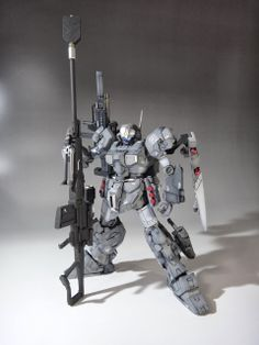 "GUNDAM GUY: 1/144 ""Ma"" JESTA - Customized Build"