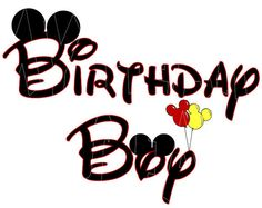 Printable DIY Birthday Boy Mickey Mouse ears by MyHeartHasEars - ClipArt Best - ClipArt Best