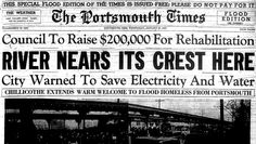 75 years ago, Portsmouth, OH was hit with the worst flood in the history of the area. To commemorate this event, we have been posting covers from the 1937 edition of the local newspaper which detail what was happening each day.