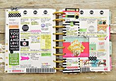 'Today I Choose Joy' weekly spread in Create365™ The Happy Planner™ by mambi…