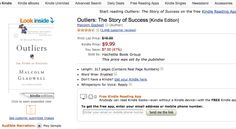 As major US publishers move to agency model with Amazon, increase of 'this price was set by publisher' seen on ebooks