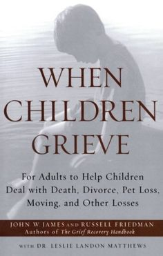 When Children Grieve: For Adults to Help Children Deal with Death, Divorce, Pet…
