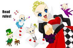 Alice in Wonderland Base