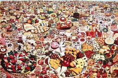Foodscape, Erro 1964, peinture à l'huile © 2014 Artists Rights Society (ARS), New York / ADAGP, Paris