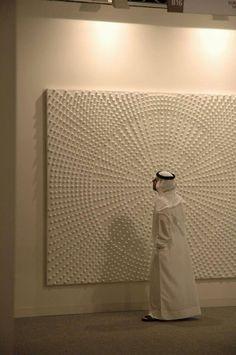 Thaier Helal Artist Mixed Media Painting Abu Dhabi Art Fair Ayyam Gallery Beirut Dubai