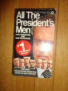 Vintage All The President's Men 1975 book find me at www.dandeepop.com