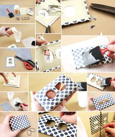 Diy Decoupage Your Light Switch Cover Projects For Home