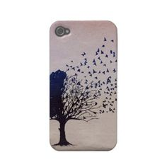 Disintegrating Tree Iphone 4 Case-mate Cases by Siimplify