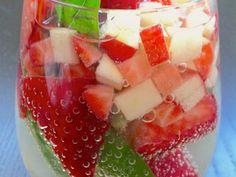 Strawberry Basil Sangria Tastes Like Spring