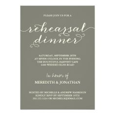 =>>Cheap          	Elegant Rehearsal Dinner Invite           	Elegant Rehearsal Dinner Invite you will get best price offer lowest prices or diccount couponeDeals          	Elegant Rehearsal Dinner Invite Online Secure Check out Quick and Easy...Cleck link More >>> http://www.zazzle.com/elegant_rehearsal_dinner_invite-161136461294048960?rf=238627982471231924&zbar=1&tc=terrest