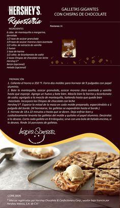 Una deliciosa receta preparada con nuestras Chispas de chocolate con leche Hershey's®.
