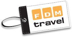 Gavekort til FDM Travel. Kan købes i et af FDM Travel's rejsebureauer.
