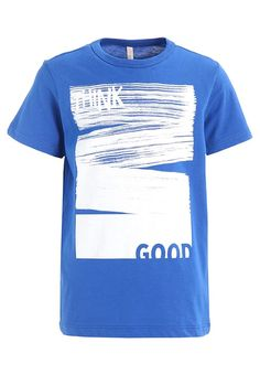 Benetton T-Shirt print - blue für 9,95 € (06.03.17) versandkostenfrei bei Zalando bestellen.