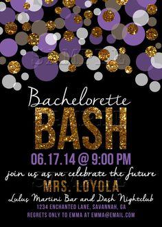 Bachelorette Bash Bachelorette Party von EnchantedDesigns4U auf Etsy