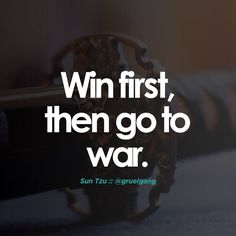 Its #Mental..Our mind is the first battleground. Every battle is won before it is fought. Victorious #warriors win firstthen go to war while defeated warriors go to war first then seek to win. #SunTzu #ArtofWar #Brain #Strategy #Mindgame #Mind #WinFirst #discipline #drive #focus #gruel #gruelgang