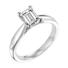 The perfect Solitaire Engagement Ring from Wedding Day Diamonds. Only $590!