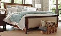 Hindell Park Queen Sleigh Bed