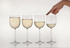 Je kunt ook zelf een paar glazen op een rijtje zetten, maar met deze set wordt het je nog makkelijker gemaakt: muziek maken op een rij gevulde glazen. Het
