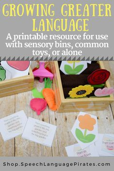 Growing Greater Language: A Spring Resource for Preschool Language Skills speech therapy