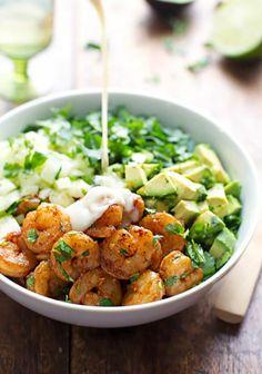 recette-salé-salade-verte-composée-salade-composée-facile-magnifique-idée