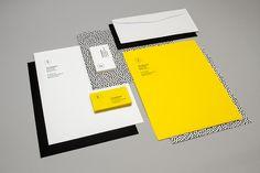 corporate identity black yellow
