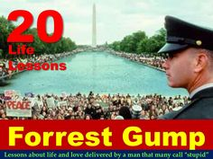 20-life-lessons-from-forrest-gump by Sompong Yusoontorn via Slideshare