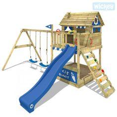 Spielturm mit Rutsche Smart Seaside   Kletterturm 814288_k